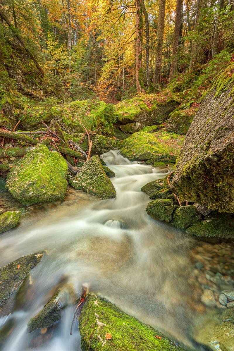 Fotowalk zu den schönsten Wasserfällen der Ostschweiz